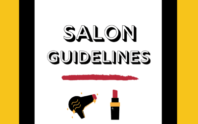 New Salon Guidelines